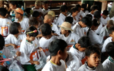 JL Group donated stationery to schools near company site area